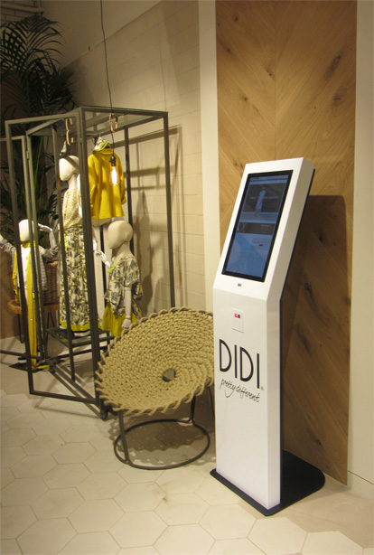 Shop-in-shop kiosk for Didi Fashion