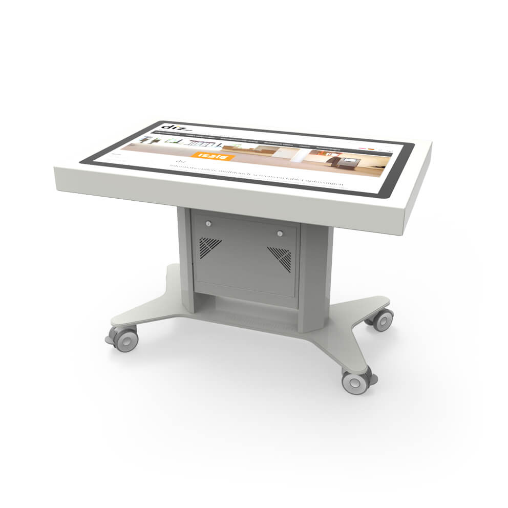 46 inch multitouch table, wheeled