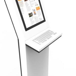diz1122P with keyboard, detail