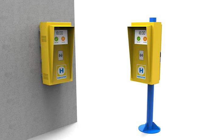 Heerema time terminal kiosk