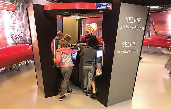 """KWF, """"Selfie van je toekomst"""""""
