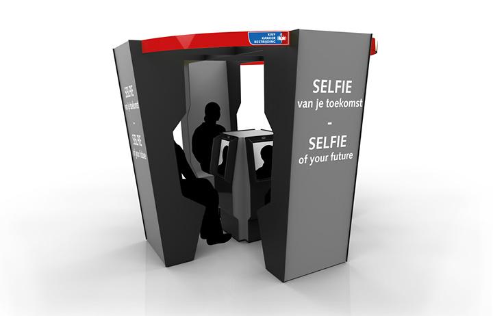 Digitale attractie 'Selfie van je toekomst'
