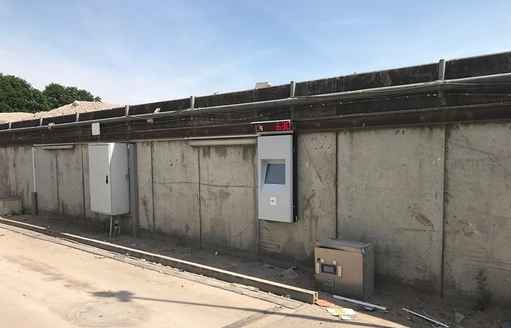 diz400 wall outdoor, Vanboxtel