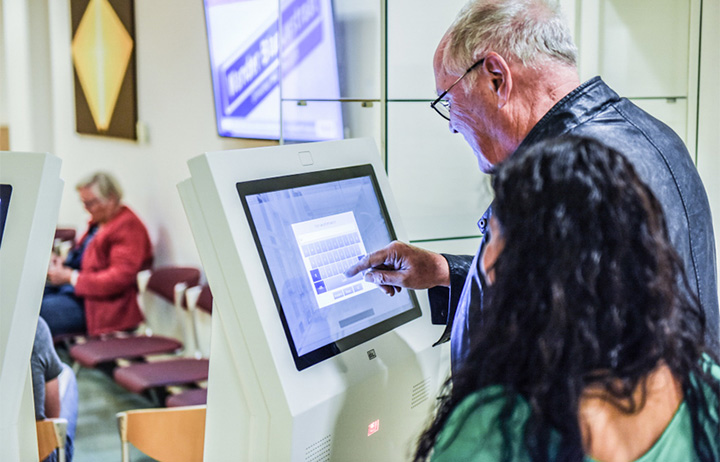 Digitale aanmeldzuil, Medisch Centrum Leeuwarden (MCL)