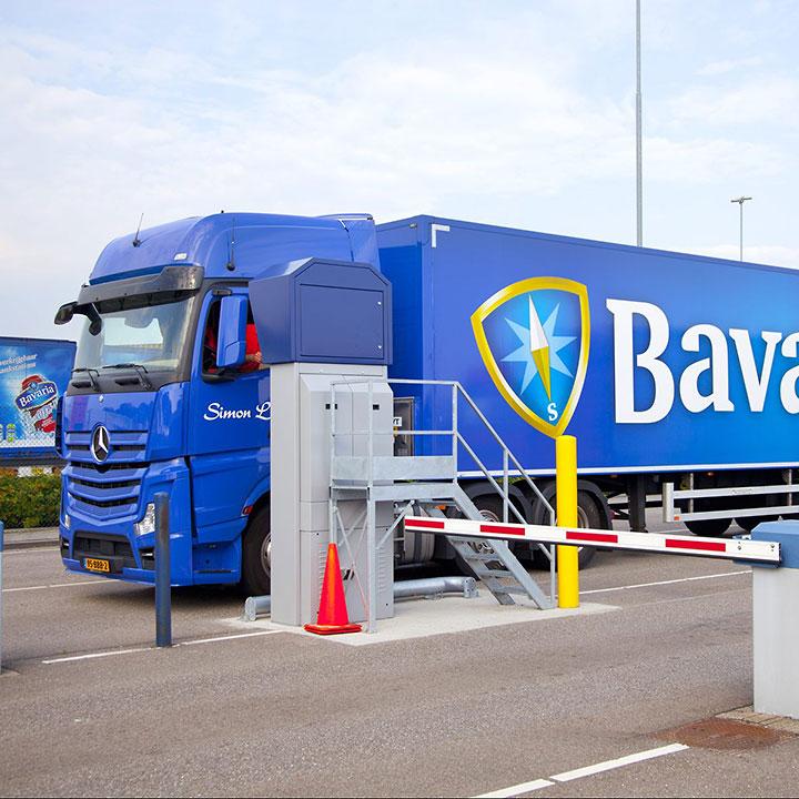 Distrizuil chauffeurskiosk, Bavaria
