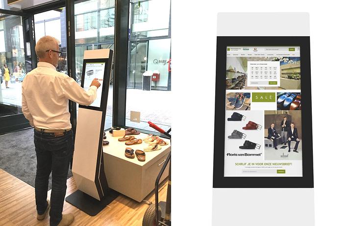 Webshopzuilen bij de Herenschoenen winkel in Eindhoven