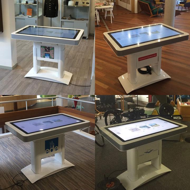 Touchscreen tafels