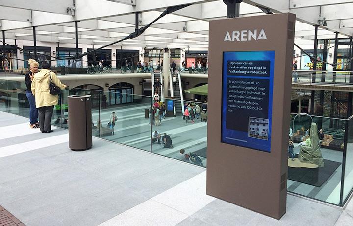Arena shopping centre Den Bosch kiest voor diz