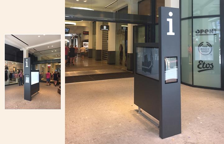 Wayfinder winkelcentrum Barones Breda