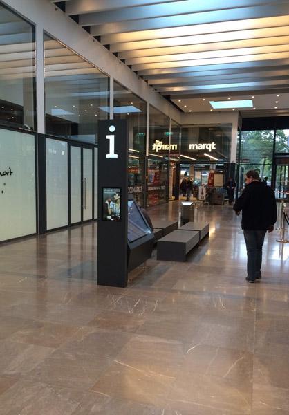 Wayfinder in Winkelcentrum Gelderlandplein, Amsterdam