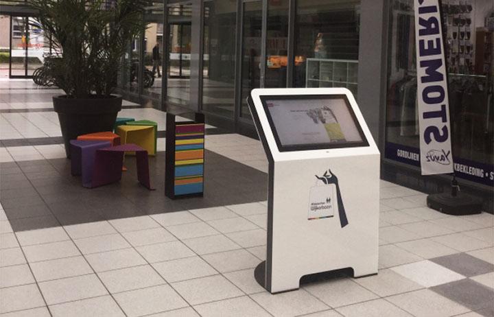 diz1432 informatiezuil, winkelcentrum Wijkerbaan