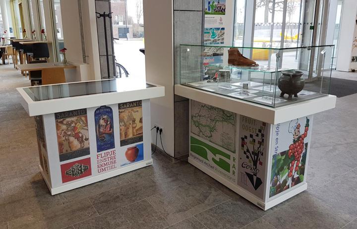 Multitouch-tafel Cultuurcentrum Zinder, Tiel