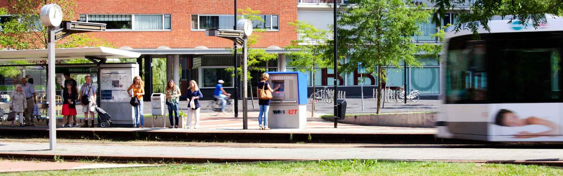 RET servicezuilen, Rotterdam