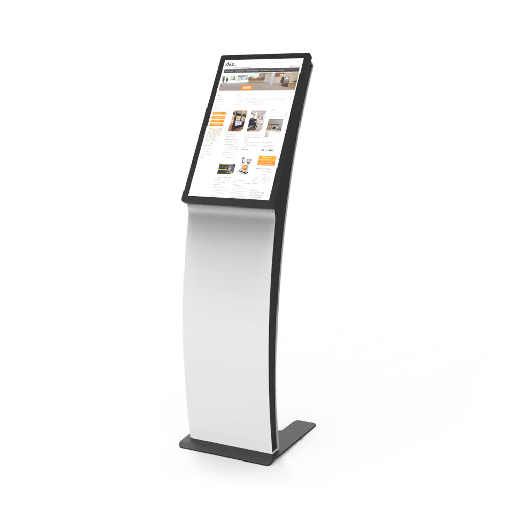 eye-catching touchkiosk