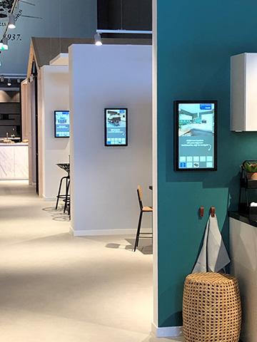 Bruynzeel touchscreens