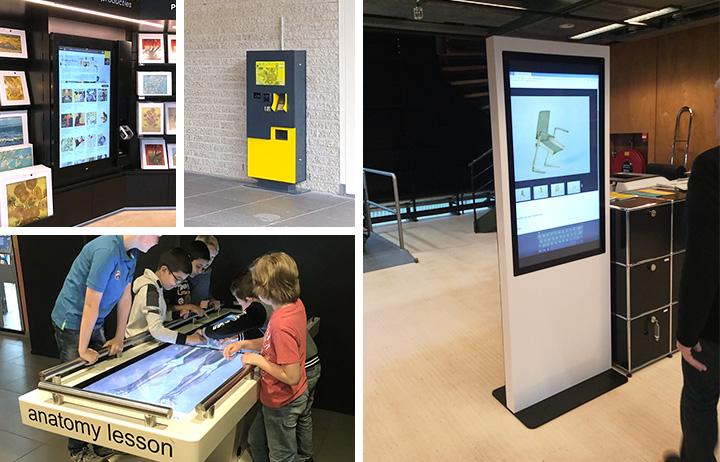 Interactie, tickets en bestellen in musea
