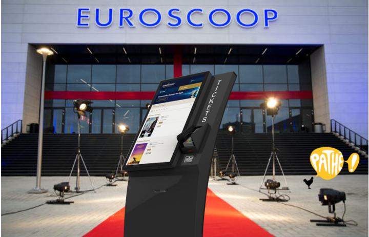 Ticketzuilen Euroscoop-Pathé Amsterdam