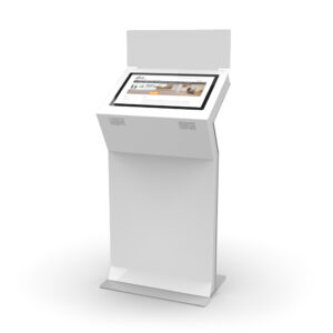 diz1822 L, information kiosk with signage panel