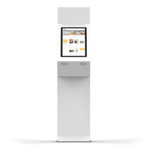 diz1822 P, information kiosk with signing possibility, front view
