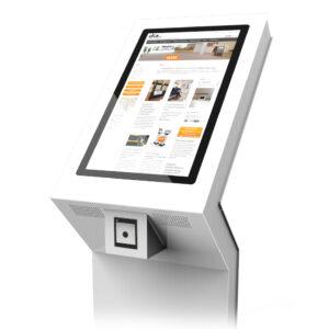 diz1822 P, kiosk with barcode scanner