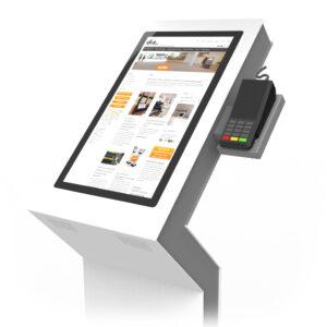 diz1822P, kiosk with payment terminal