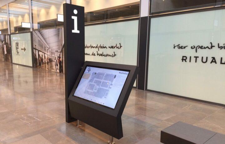 Wayfinding kiosk, Winkelcentrum De Barones, Breda