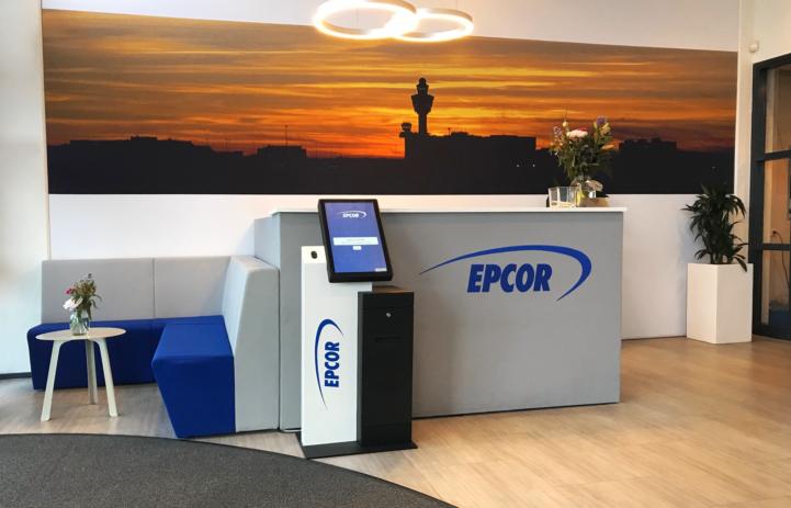 Digitale receptie bij Epcor