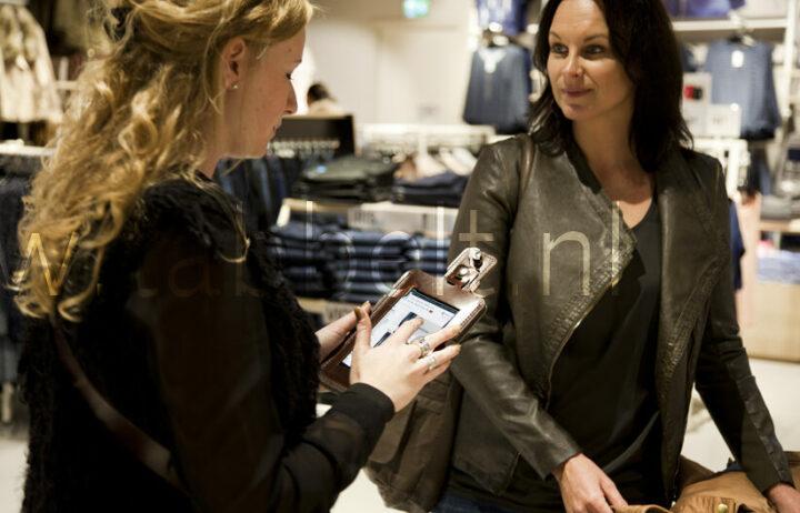 Tablet-assisted sales voor de retail