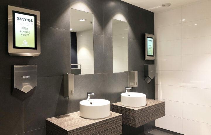 Toilet monitoren Gelderlandplein