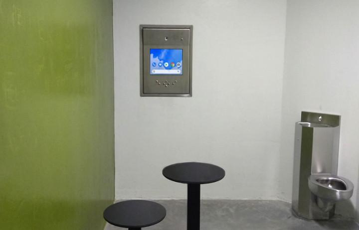diz producten in cellencomplex Politiehuis Brugge
