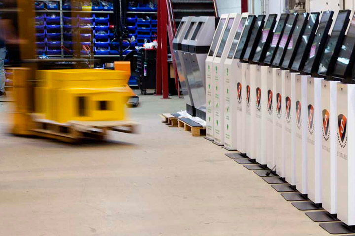 diz assembly line and warehouse