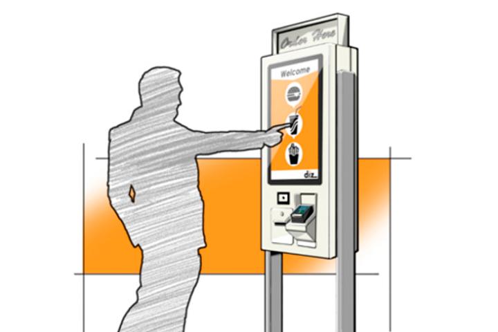 diz information kiosks, design department